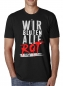 Mobile Preview: Wir bluten alle Rot T Shirt Front