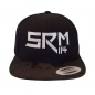 Mobile Preview: SRM 114 Snapback Basecap Black Camou Front
