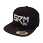 Preview: SRM 114 Snapback Basecap Black Camou