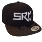 Mobile Preview: SRM 114 Snapback Basecap Black Camou Seite
