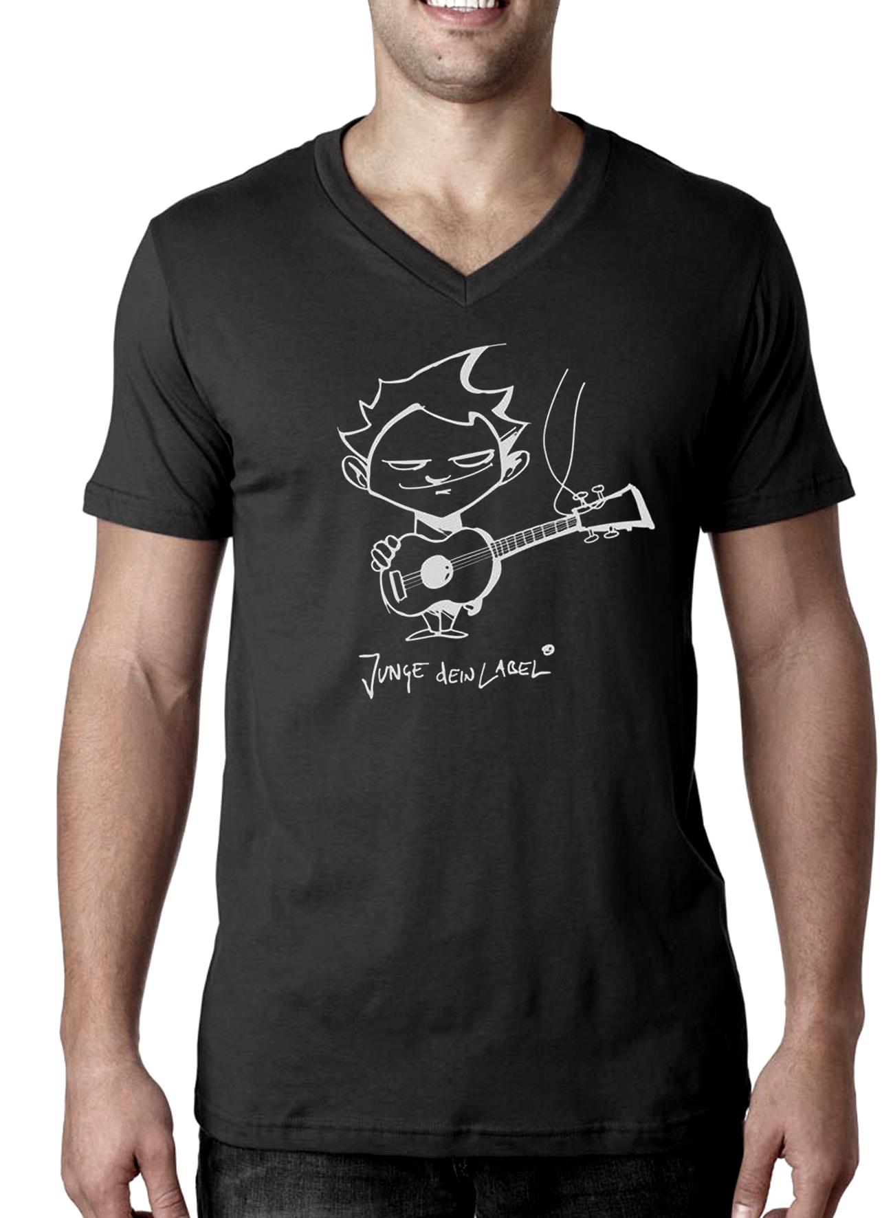 online store 68ef8 1d511 Junge dein Label T-Shirt (V-Ausschnitt)